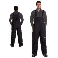 Полукомбинезон снегоходный мужской CKX PEAK черный