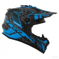Шлем внедорожный CKX titan sandstorm синий