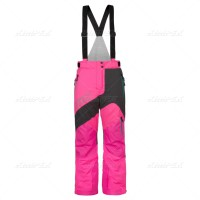 Брюки снегоходные женские CKX MIRAGE, серый/розовый